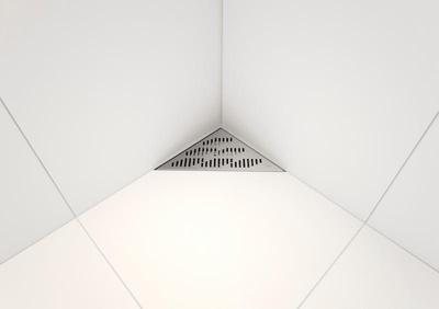 Corner Twist sluk - 50mm side (lav)