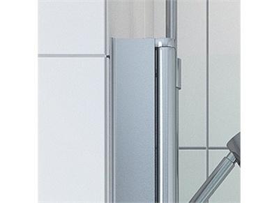 VikingBad Utfellingsprofil for dusjdør - 70mm (195 cm høy)