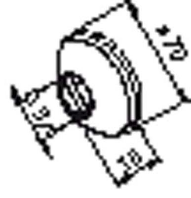 Rosett f/eks.kupling, lav type