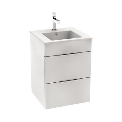 Laufen Jika Cube 45x43cm  Baderomsmøbel inkludert servant og 2 skuffer, hvit