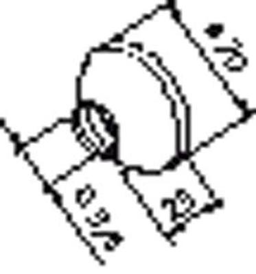 """Rosett f/eks.kpl. 3/4"""" m/plastring"""