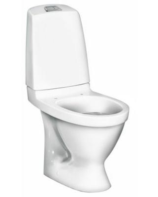 1510 Hygienic Flush Toalett, skjult p-lås