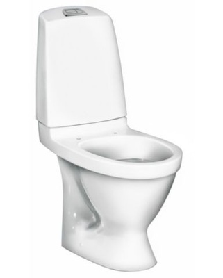 Gustavsberg Gustavsberg Nautic 1510 Hygienic Flush Toalett, skjult p-lås