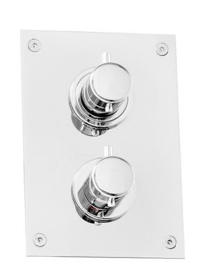 Tapwell Box BOX368 Krom termostatbatteri 3-veis
