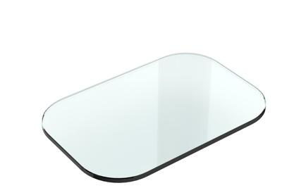 White Glasshylle, 30x20 (reservedel)