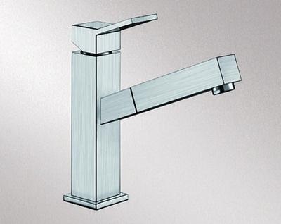 Blanco Quadris-S Kjøkkenkran, børstet rustfritt stål