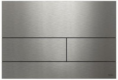Tece TECEsquare II betjeningsplate, børstet rustfritt stål