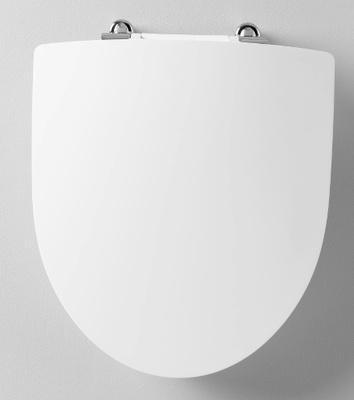 Ifø Spira toalettsete med Soft Close og Quck Release, hvit