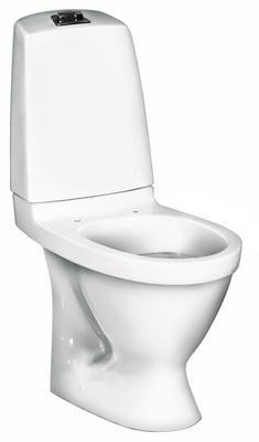 Toalett, P-lås, dobbelspyling, 5510