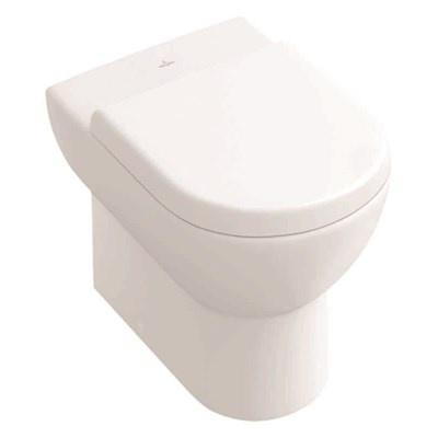 Subway Toalettskål Med Sete. For Gulvmontering. Tilpasset Monolith.