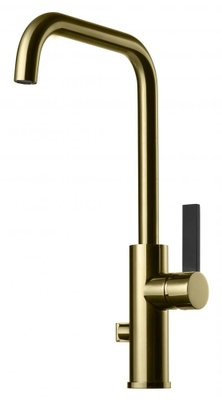 Tapwell ARM984 Honey Gold/Sort Kjøkkenbatteri