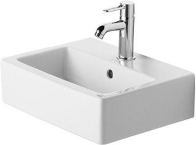 Duravit Vero 450X350mm servant m/over. og kranhull