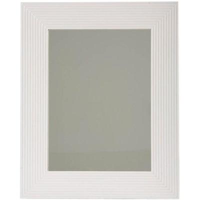 Profil Speil med hvit ramme