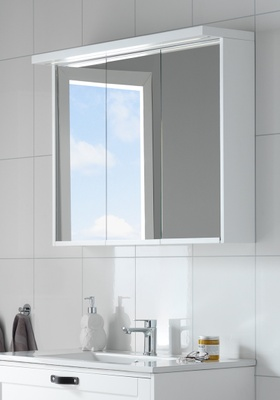 Hafa Eden speilskap 900 hvit