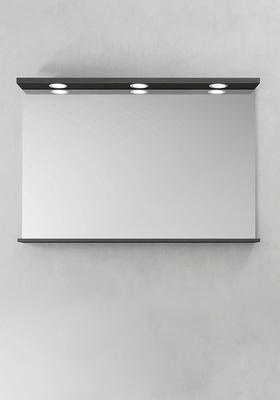 Hafa Speil Store Ledspots Antracit 1000