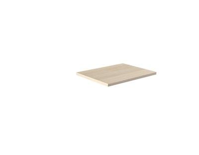 Benkeplate sandfarget ask 120 cm