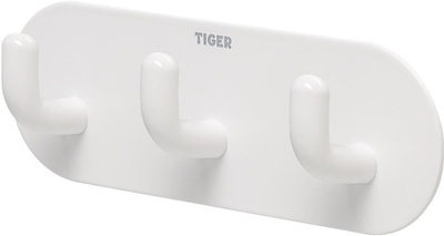Tiger Tiger Kroker og kroklister Rondo krokrekke,hvit selvklebende