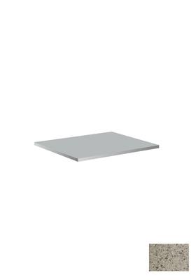 Hafa Benkeplate 605x462x12 uten hull chrome suede
