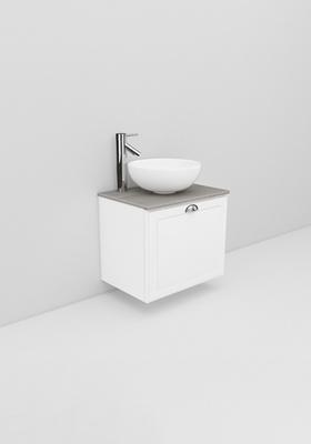 Noro Flexline Modell 21.3 600 Hvit Mat Fasad Ramme