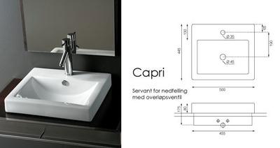 Bathco Capri servant