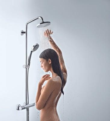 Croma 160 Showerpipe
