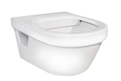 400x460x545 Hygienic Flush veggskål Veggskål uten vulst
