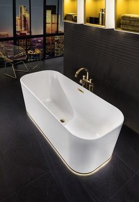 Villeroy & Boch Frittstående badekar i Quaryl 1700 x 700 - Som avbildet