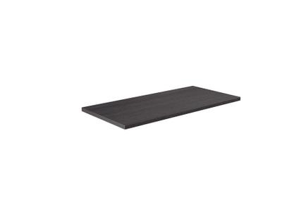 Benkeplate svart cortina eik 100 cm