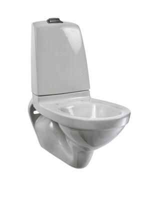 Toalettskål for veggmontering, 5522