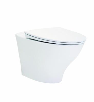 Porsgrund Glow Toalettskål for veggmontering, 525x363x355 cm, Rimfree