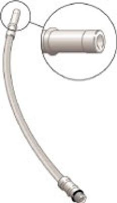 Tilkoblingslanger Softpex for servant, - kjøkken og bidetkran 2 stk, M10x300mm