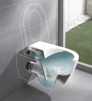 Villeroy & Boch Subway 2.0 Toalettskål for veggmontering, 565x375 mm,direct flush