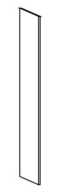 Dekkside høyskapshøyde 60 x 196,5