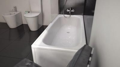 Laufen Milano 1400x700 mm Badekar hvit