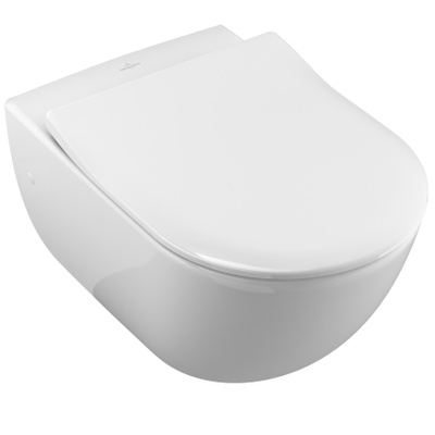 Villeroy & Boch Subway Toalettskål for veggmontering, 565x375 mm, Ceramic+