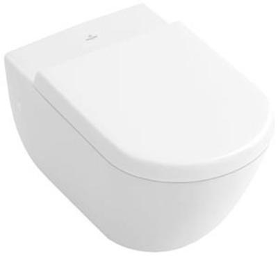 Villeroy & Boch Subway Toalettsete, hardplast, med Soft Close og Quick Release