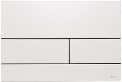 Tece TECEsquare II betjeningsplate, hvit RAL9016