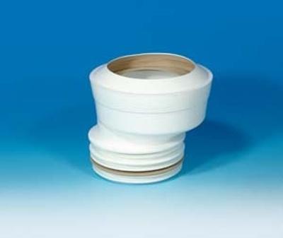 Eksentrisk Toalettstuss f 110mm Spissende Multikwik