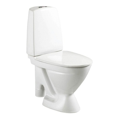 6870 Toalett, åpen S-lås, dobbelspyling, f/liming, f/rehab, Fresh