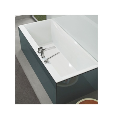 Villeroy & Boch Squaro Edge 12 Badekar, 1600x750 mm, for innbygging