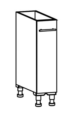 Benkeskap 20 m/uttrekk
