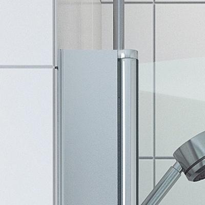 VikingBad Utfellingsprofil for dusjdør - 95mm (195 cm høy)