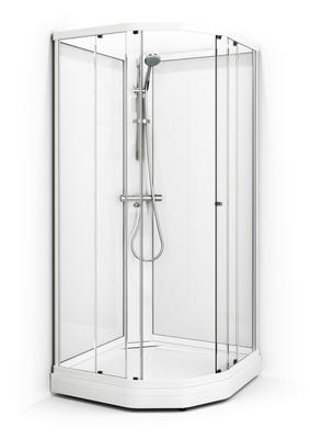 Dusjkabinett, 91x91 cm