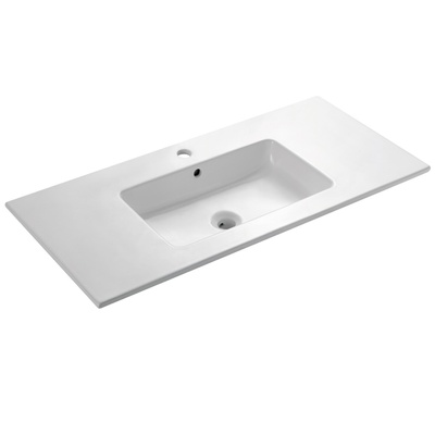Bathco Liebana rektangulær porselensservant 1010x460x150mm