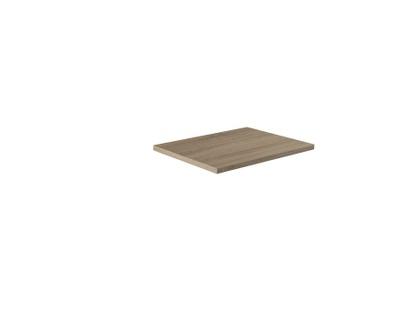 Benkeplate grå bardolino eik 60 cm