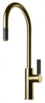 Tapwell ARM185 Honey Gold/Sort Kjøkkenbatteri