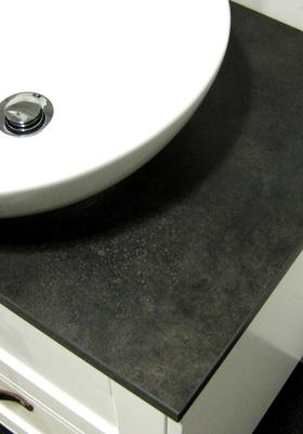 Hafa Eden benkeplate 1210x465 mørkegrå steindekor