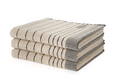 Eden Querstreifen Håndkle 80x150