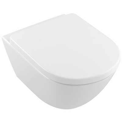 Toalettskålpakke direct flush Inkludert Sete med Soft Close og Quick Release.