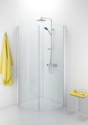 Porsgrund Showerama 10-4 dusjhjørne buet
